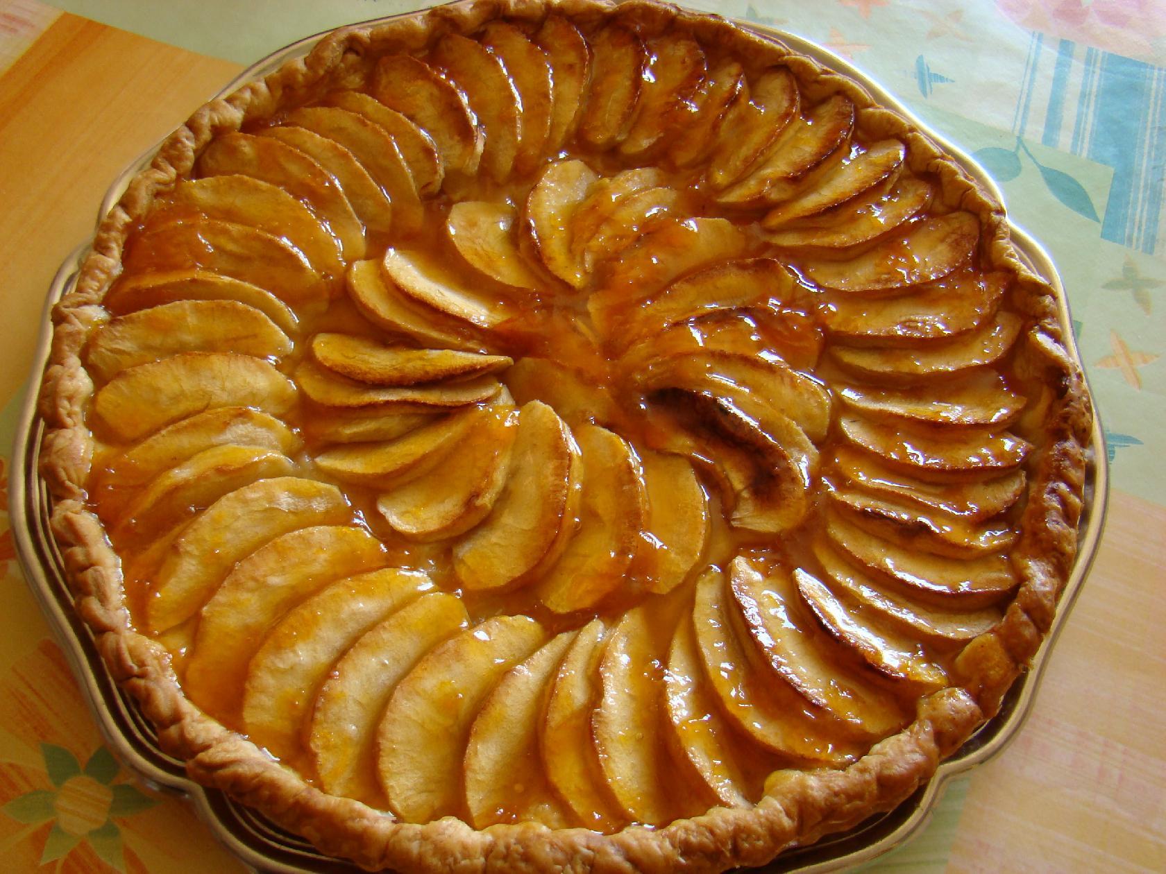 Appeltaart anw algemeen nederlands woordenboek - Dessin de tarte aux pommes ...