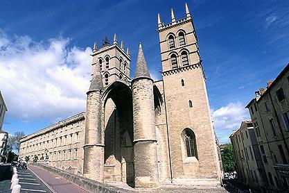 Montpellier - Cathedrale saint pierre de montpellier ...