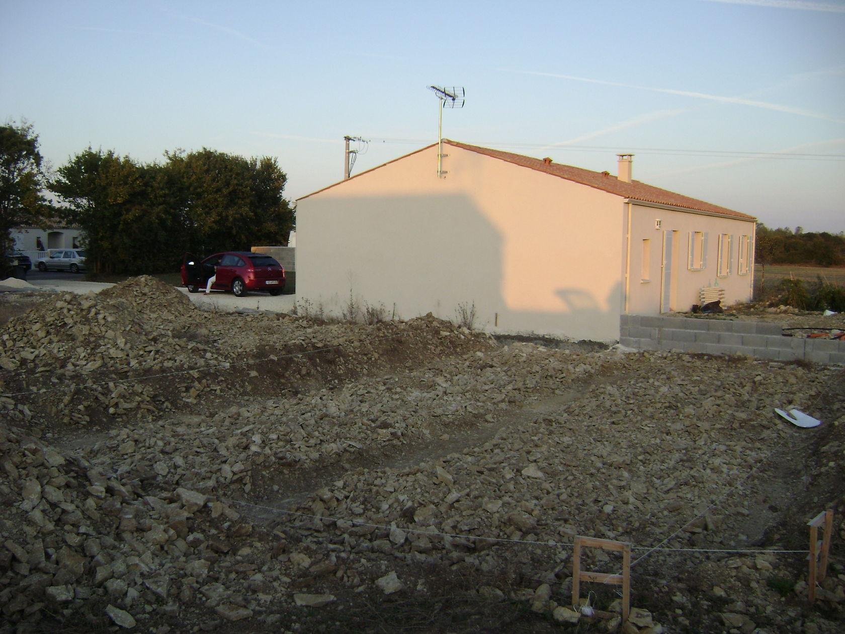 Terrassement maison for Terrassement maison