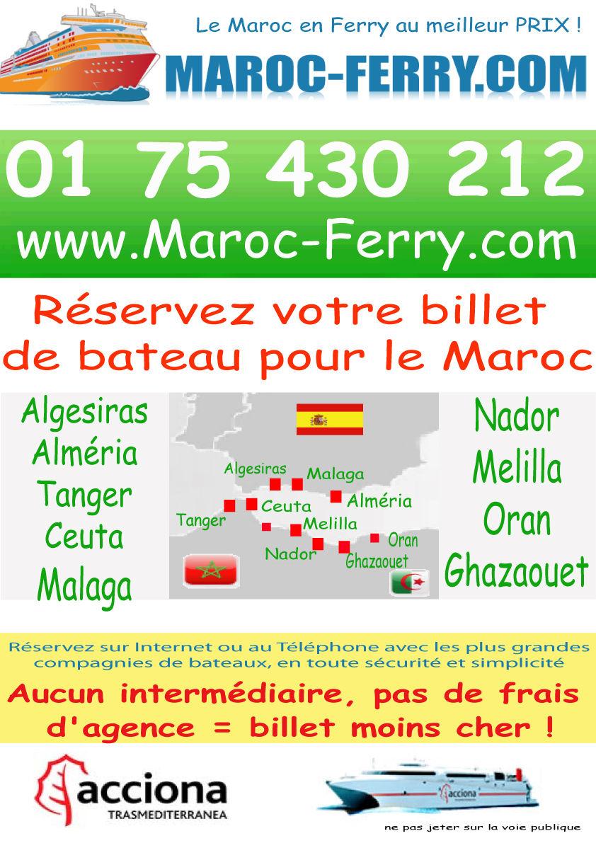 billets de bateaux pas chers avec maroc ferry meilleure compagnie. Black Bedroom Furniture Sets. Home Design Ideas