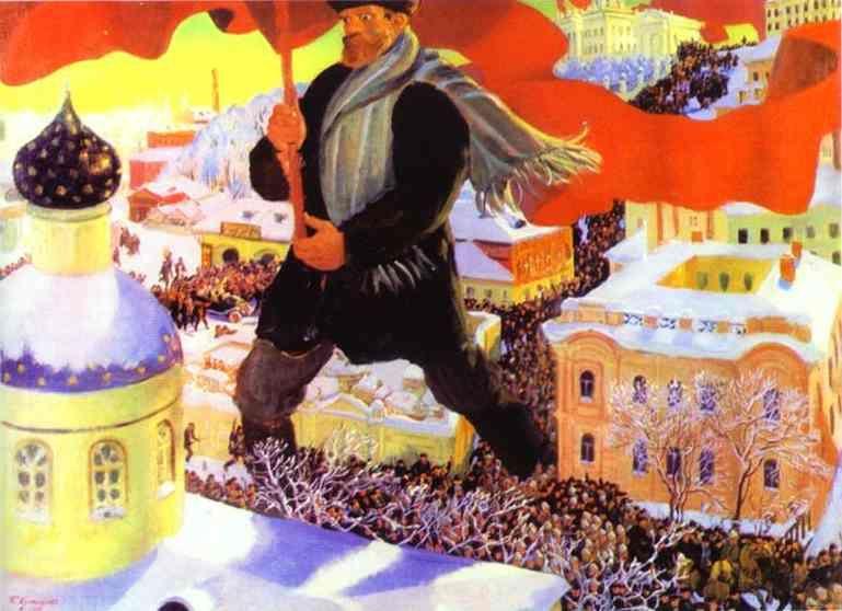 Par la guerre civile russe puis par la création de l urss en 1922