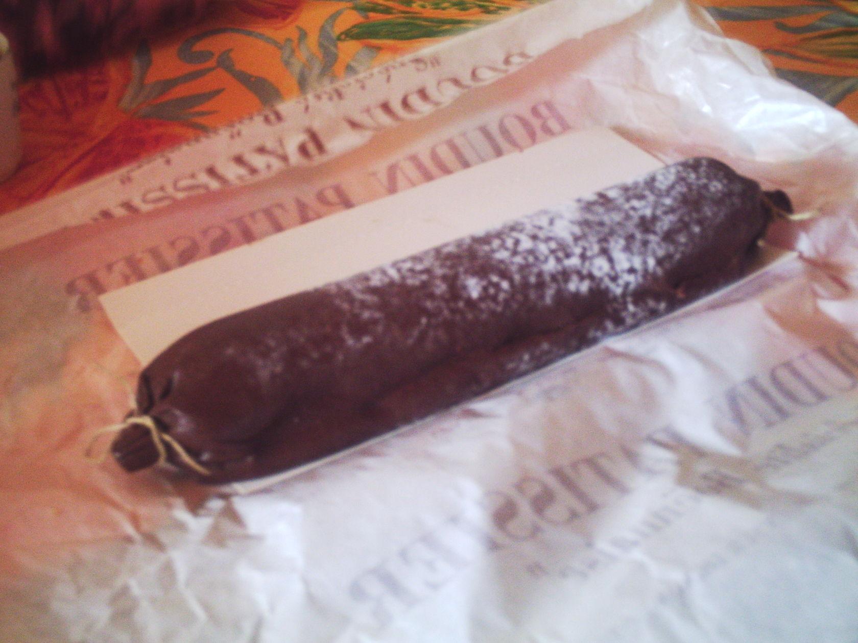boudin en chocolat
