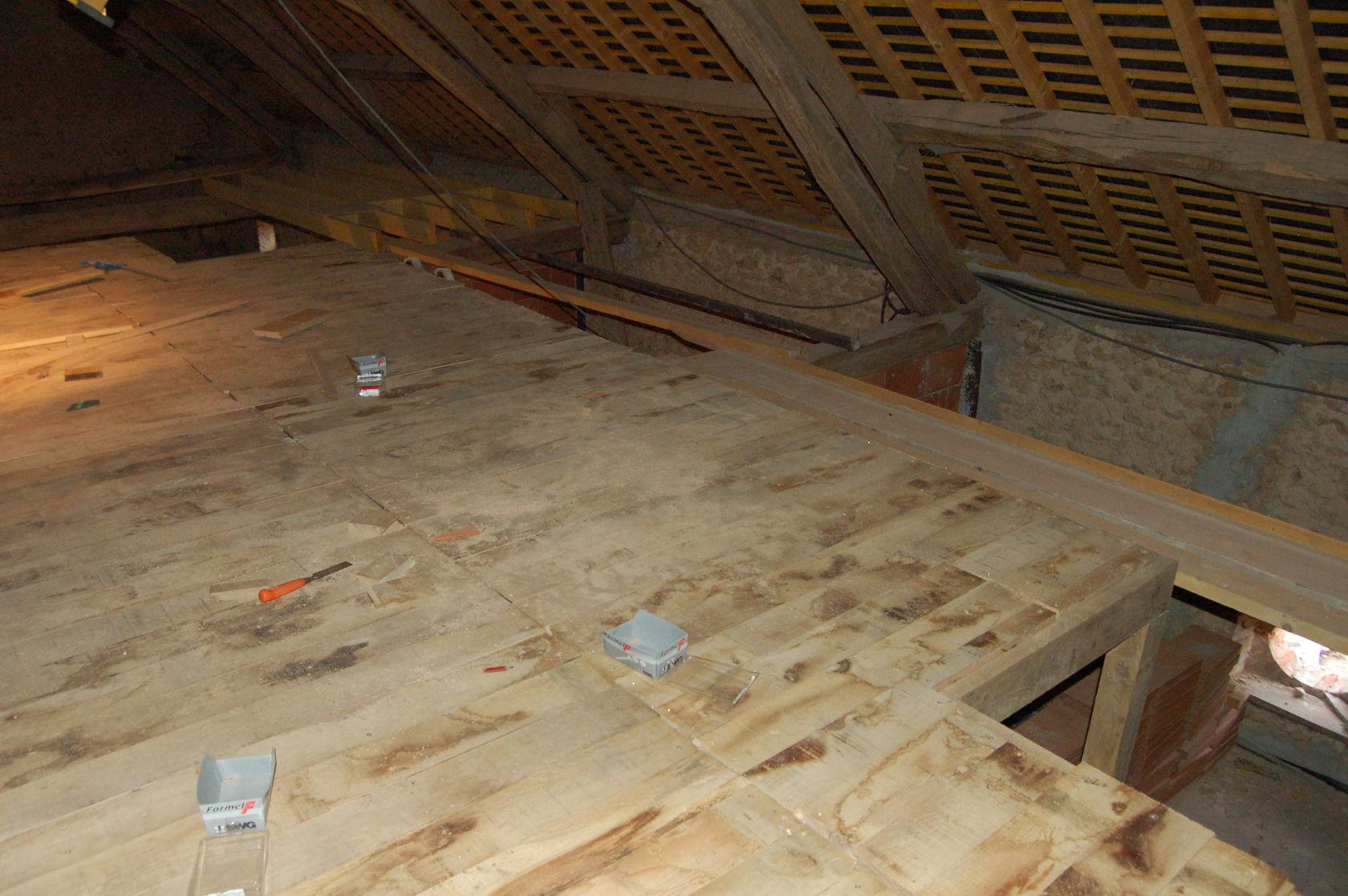Mezzanines chambres solivage et plancher for Plancher mezzanine