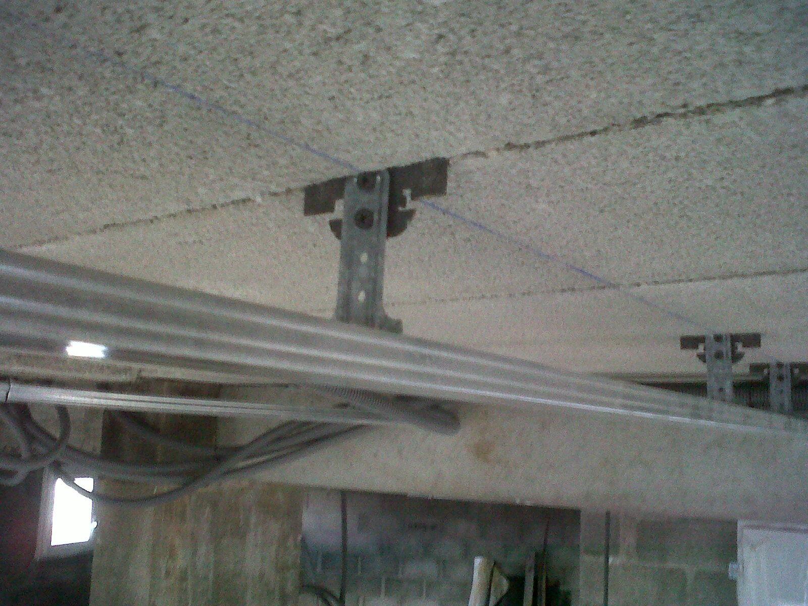 Electricit placo plomberie - Faux plafond tige filetee ...