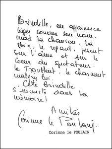 Brindille - Dédicace Corinne Le Poulain