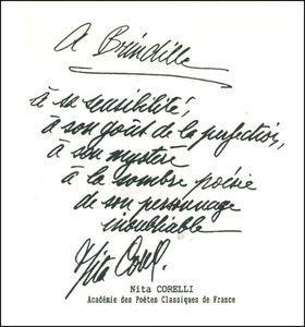 Brindille - Dédicace Nita Corelli