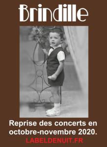 Brindille Concerts Octobre Novembre 2020 - Label de Nuit